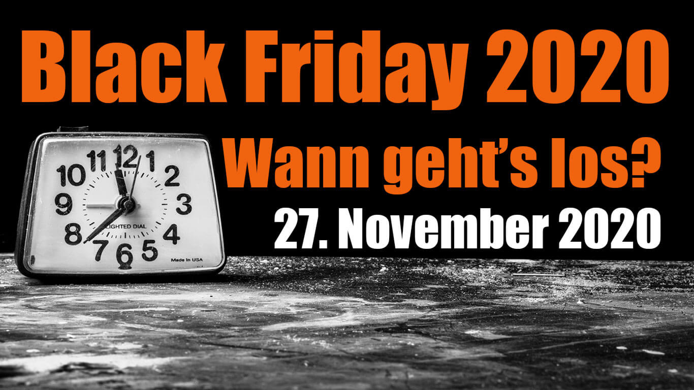 black friday 2020 wann ist black friday 27. November 2020
